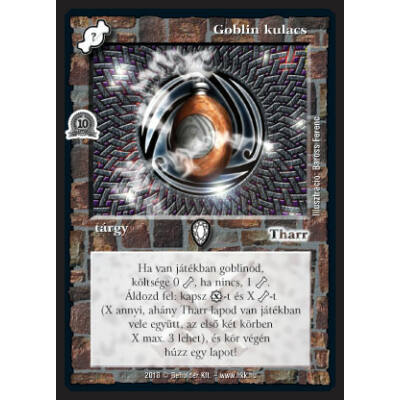 Goblin kulacs (foil)