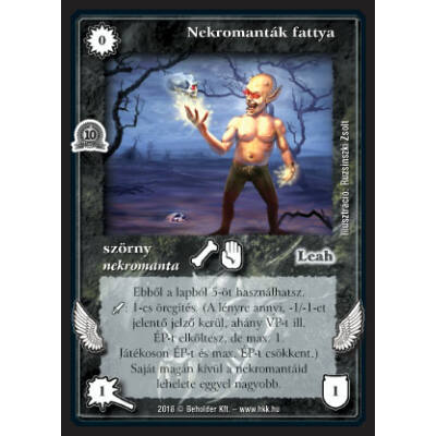 Nekromanták fattya (foil)