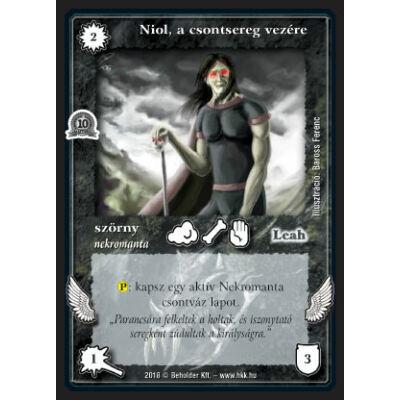 Niol, a csontsereg vezére (foil)