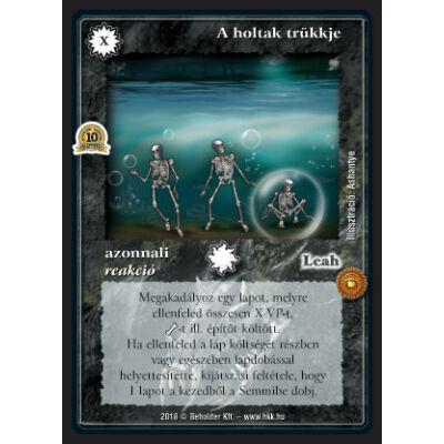 A holtak trükkje (foil)