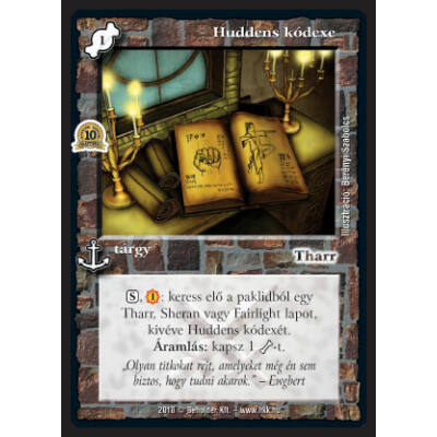 Huddens kódexe (foil)