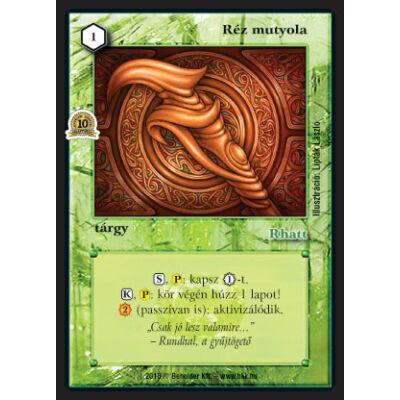 Réz mutyola (foil)