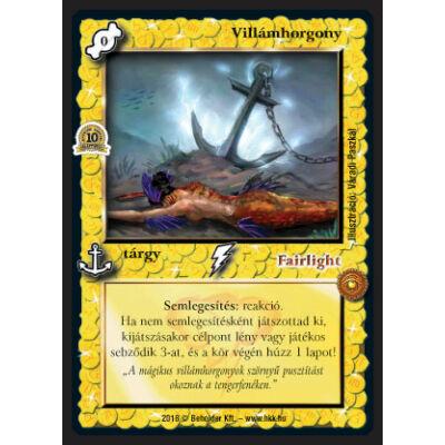 Villámhorgony (foil)