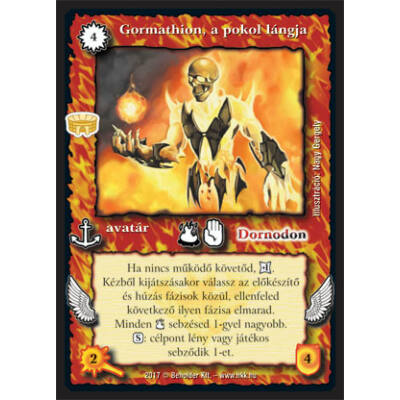 Gormathion, a pokol lángja