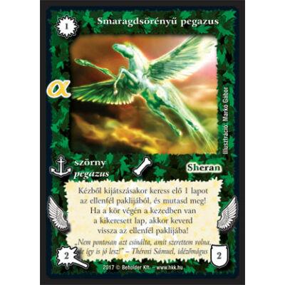 Smaragdsörényű pegazus