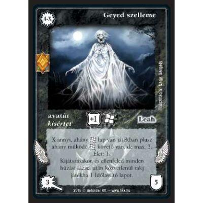 Geyed szelleme (foil)