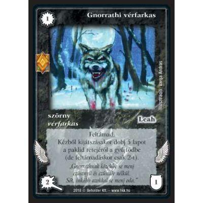 Gnorrathi vérfarkas (foil)