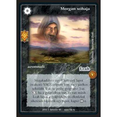 Morgan sóhaja (foil)