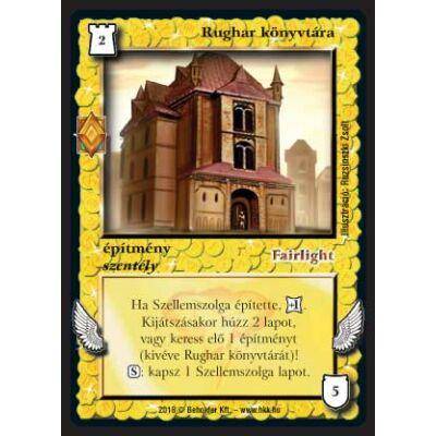 Rughar könyvtára (foil)