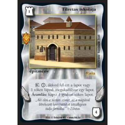 Tilretas iskolája (foil)