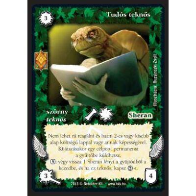 Tudós teknős (foil)