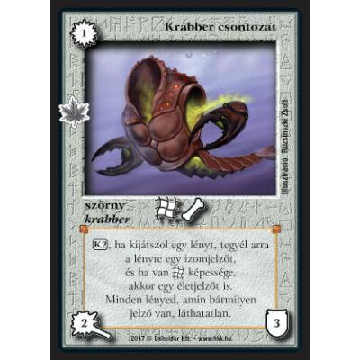 Krabber csontozat