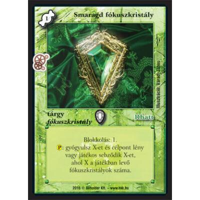 Smaragd fókuszkristály