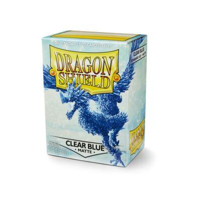 Dragon Shield Clear Blue Matte (100)