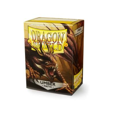 Dragon Shield Umber Matte (100)