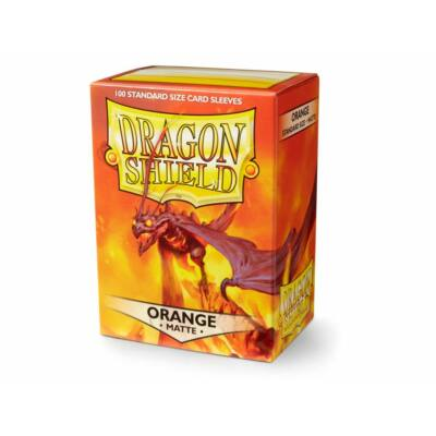 Dragon Shield Orange Matte (100)