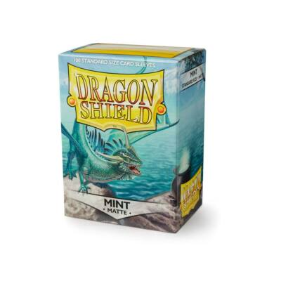 Dragon Shield Mint Matte (100)