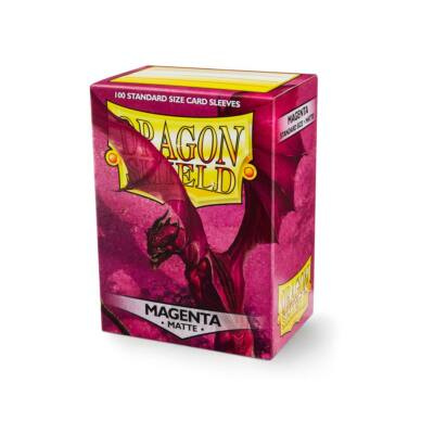 Dragon Shield Magenta Matte (100)