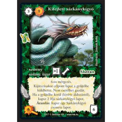 Kifejlett sárkánykígyó