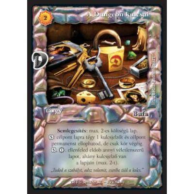 A Dungeon kulcsai