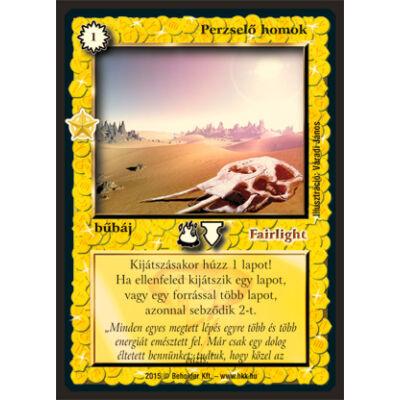 Perzselő homok