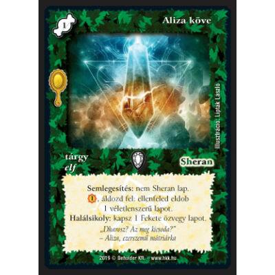 Aliza köve (foil)