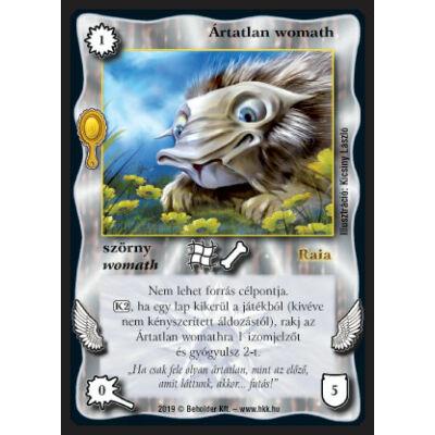 Ártatlan womath (foil)