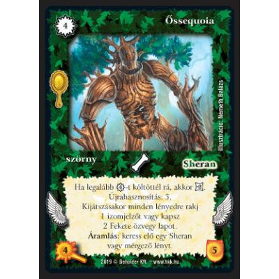 Őssequoia (foil)