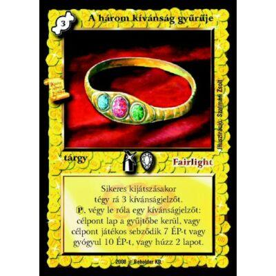 A három kívánság gyűrűje (új)