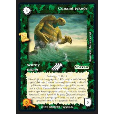Cunami teknős