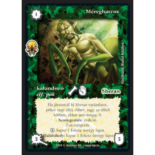 Méregharcos (foil, Legendás cél exkluzív)