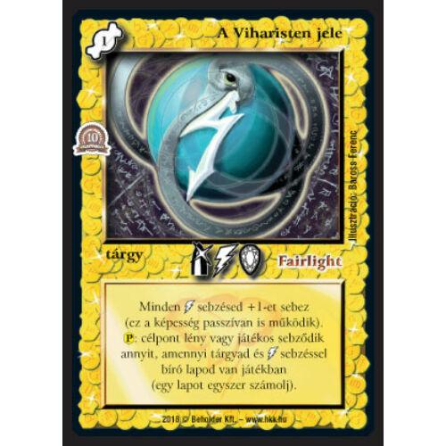 A Viharisten jele (foil)