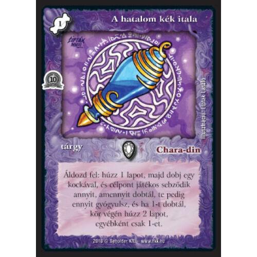 A hatalom kék itala (foil)