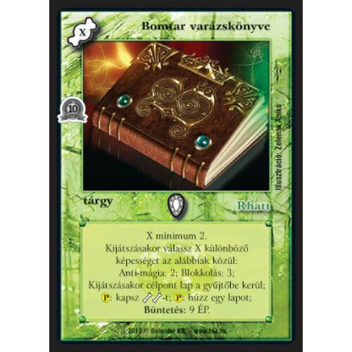Bomtar varázskönyve (foil)