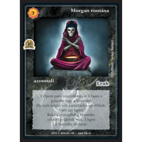 Morgan rontása (foil)