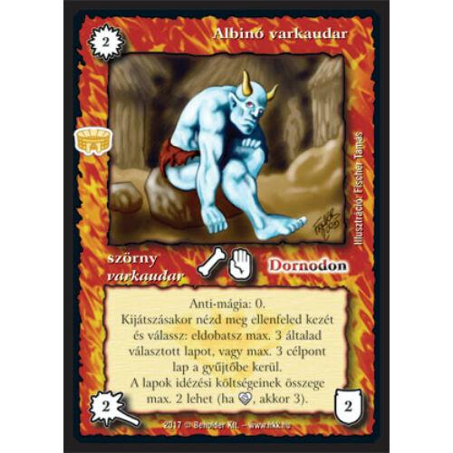 Albinó varkaudar (új)