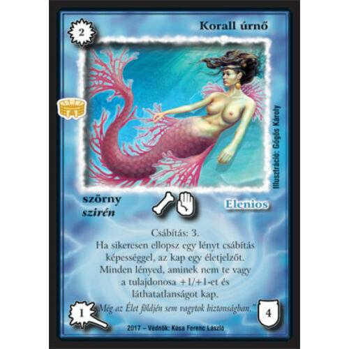 Korall úrnő