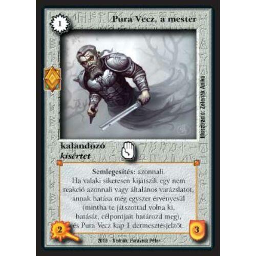 Pura Vecz, a mester