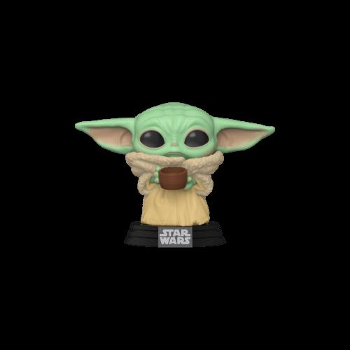 Funko POP! Star Wars: Mandalorian - The Child w/cup