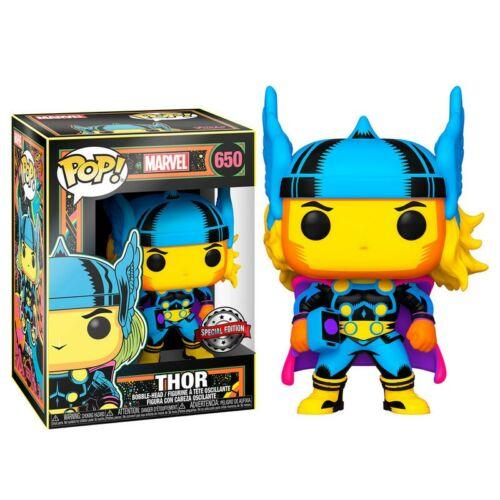 Funko POP! Marvel - Black Light Thor (Target Exclusive)