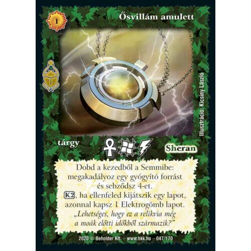 Ősvillám amulett