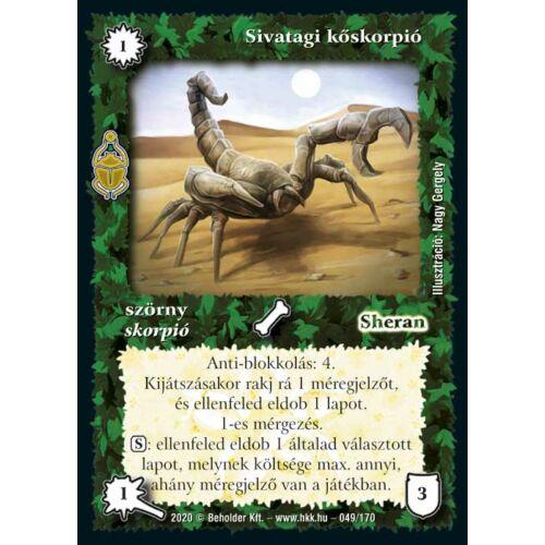 Sivatagi kőskorpió