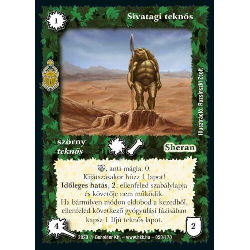 Sivatagi teknős (2020)