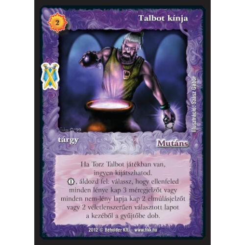 Talbot kínja (új)