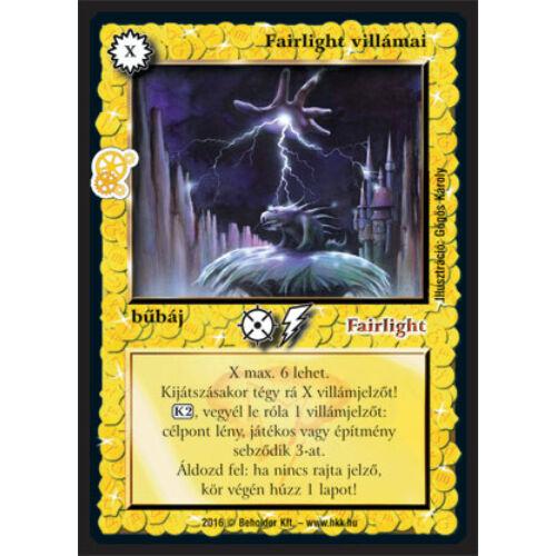 Fairlight villámai (új)