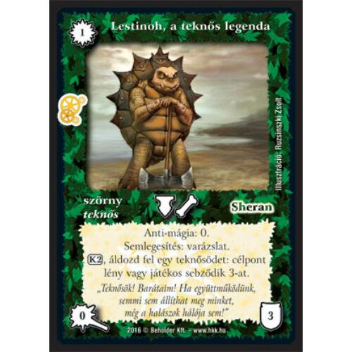 Lestinoh, a teknős legenda (új)