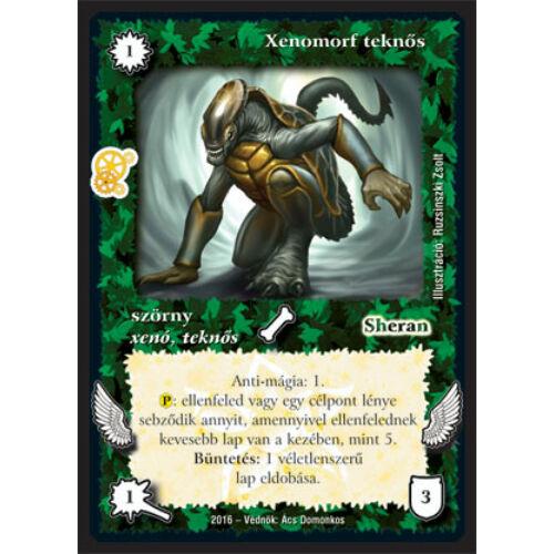 Xenomorf teknős