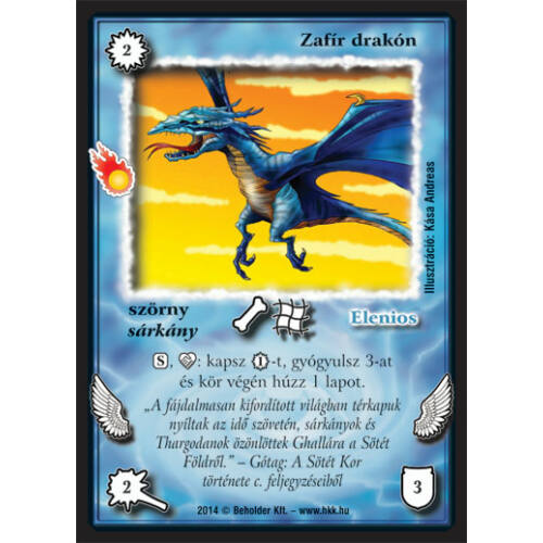 Zafír drakón (új)