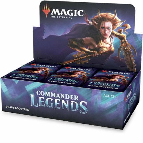 Commander Legends Display