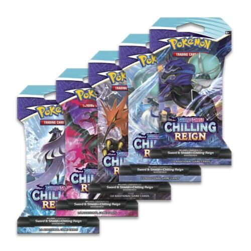 Chilling Reign Sleeved Booster